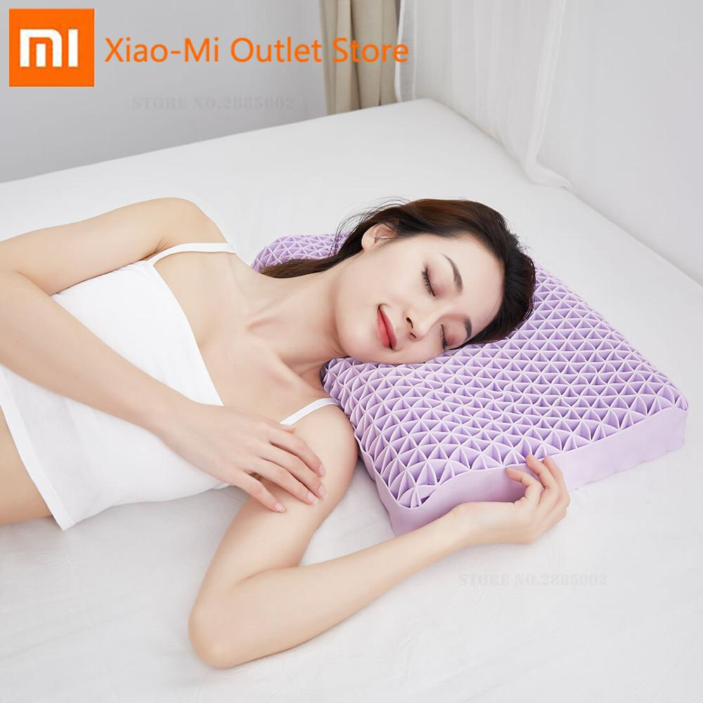 Xiaomi Youpin YUYUEHOME 3D Honeycomb Pressure Release Pillow Dynamic Fit Rebounds Release Curve Support Skin-Friendly Breathable image
