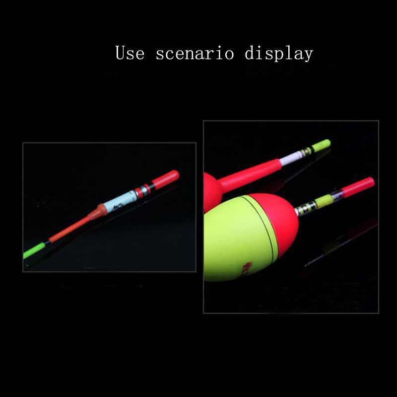 1 Pcs Vissen Float Led Elektrische Vlotter Licht Visgerei Lichtgevende Float + CR322 Batterij Led Vlotter Diepe Water Night vistuig
