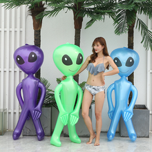 Doll Alien Christmas Green Inflatable Halloween Child Toy PVC Horror Birthday-Party-Props