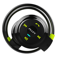 PLUFY Wireless Bluetooth Sport Headphones Radio Mp3 Player Neckband Stereo Headset Support Memory Card