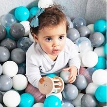 50 Pcs Soft Plastic Ocean Balls for Dry Pool Eco-Friendly Ball Pit Colorful Kids Christmas Toys Children Dia 7CM