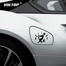面白い車ステッカープル燃料水槽ポインタフル Hellaflush 反射車のステッカーデカール卸売車のステッカーとデカール