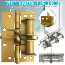 Позиционирование петля Автоматическая закрывающая дверная петля дверная деревянная дверная петля алюминиевый сплав Дверная закрывающая петля пружинная петля