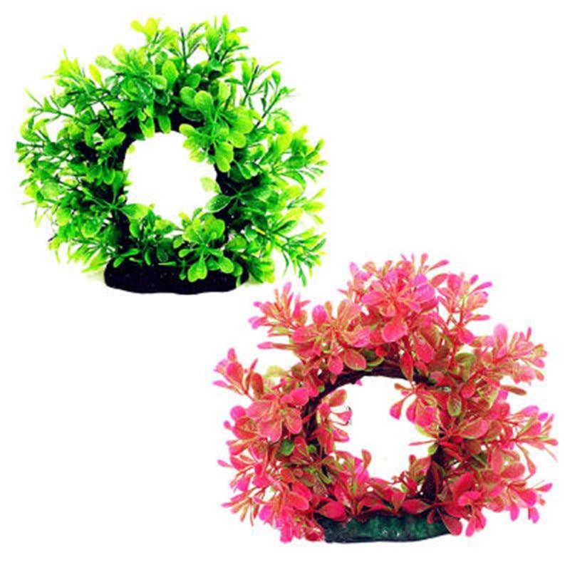 Искусственные подводные растения аквариумные украшения аквариумные декорации Ландшафтные декорации зеленые водные растения Трава для