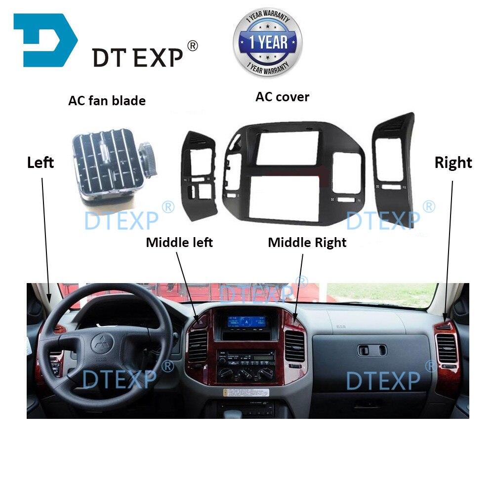 AC Cover For Montero Car Dashboard Air Conditioner Vent Outlet For Pajero V73 V75 V77