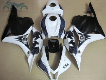 Custom you fairing kit for Honda CBR600RR 2009 2010 2011 CBR 600 RR 600RR 09 10 11 plastic fairing kits black white ZT01