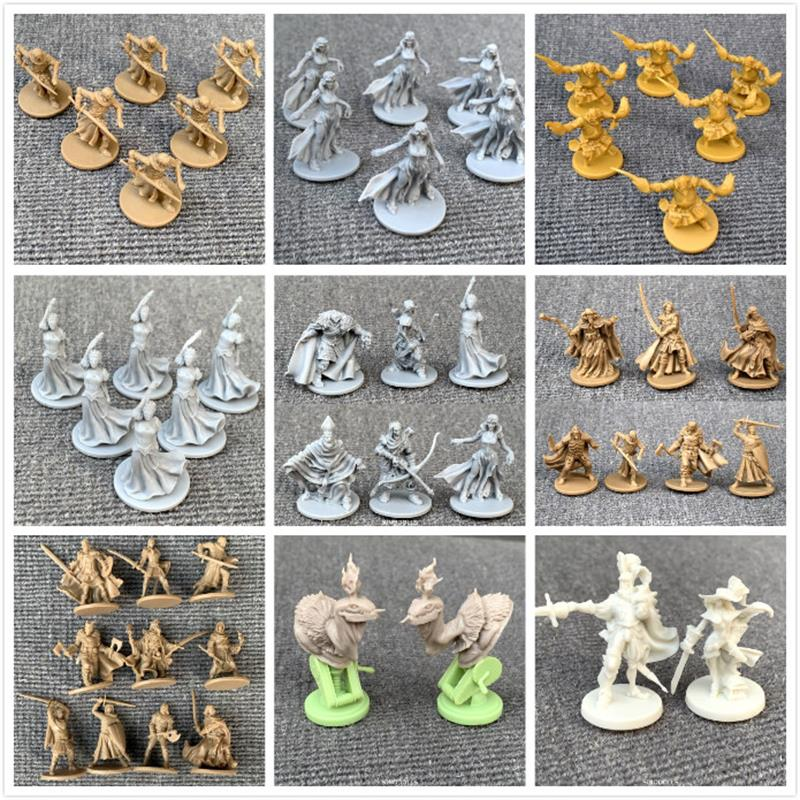 New Board Game Role Playing Games Miniatures Model Underground City Series Cthulhu Wars Game Figures Set
