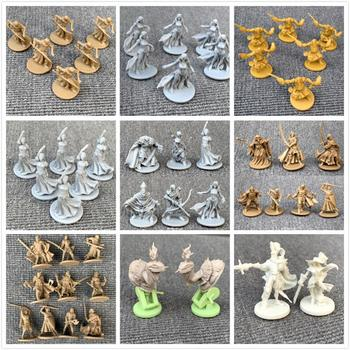 New Board Game Role playing Games Miniatures Model Underground City Series Cthulhu Wars Game Figures Set bixe 3pcs miniatures wars board game figures role playing monsters model