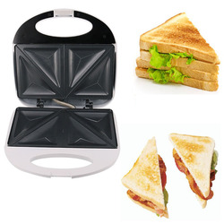 750W Electric Sandwich Maker Waffle Maker Automatic Cake Grill Fast Breakfast Cooking Machine Kitchen Tool for Home UK Plug