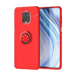 Wielofunkcyjny futerał na telefon z uchwytem na palec magnetyczny do Redmi Note9Pro K30 5G Note8t Xiaomi10 10pro telefon tylna okładka