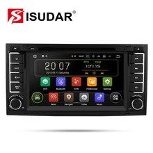 Isudar 2 דין אוטומטי רדיו אנדרואיד 9 עבור פולקסווגן/פולקסווגן/טוארג CANBUS רכב מולטימדיה וידאו DVD נגן GPS ניווט USB DVR FM/AM