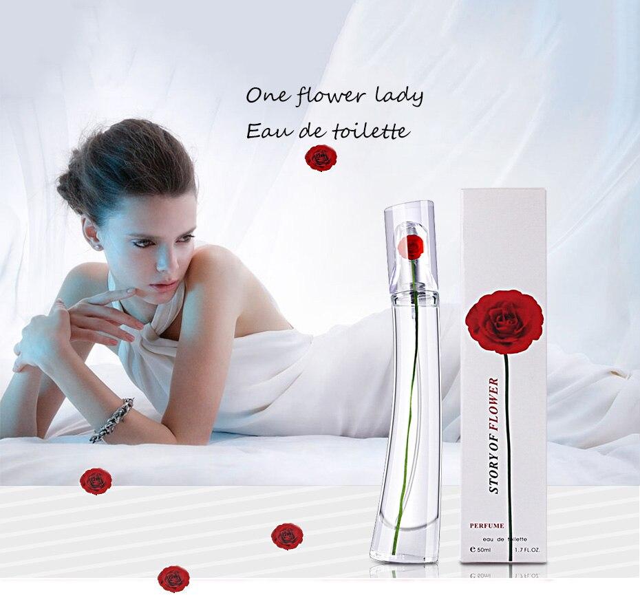 JEAN MISS 50ml Fragrance Perfume For Women Spray Deodorant Female Long Lasting Flower Fragrances Lady Parfum Glass Bottle