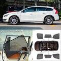 Auto Seite Windows Magnetische Sonne Schatten UV Schutz Ray Blockieren Mesh Visier Für Volvo V60-in Seite Fenster Sonnenschutz aus Kraftfahrzeuge und Motorräder bei