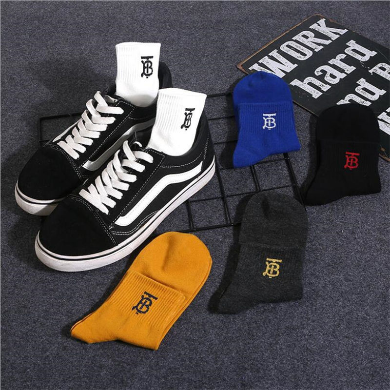 5 Pairs/lot Autumn And Winter Men Cotton Ankle Socks For Mens Business Casual Solid Color Short Socks Male Sock Slippers