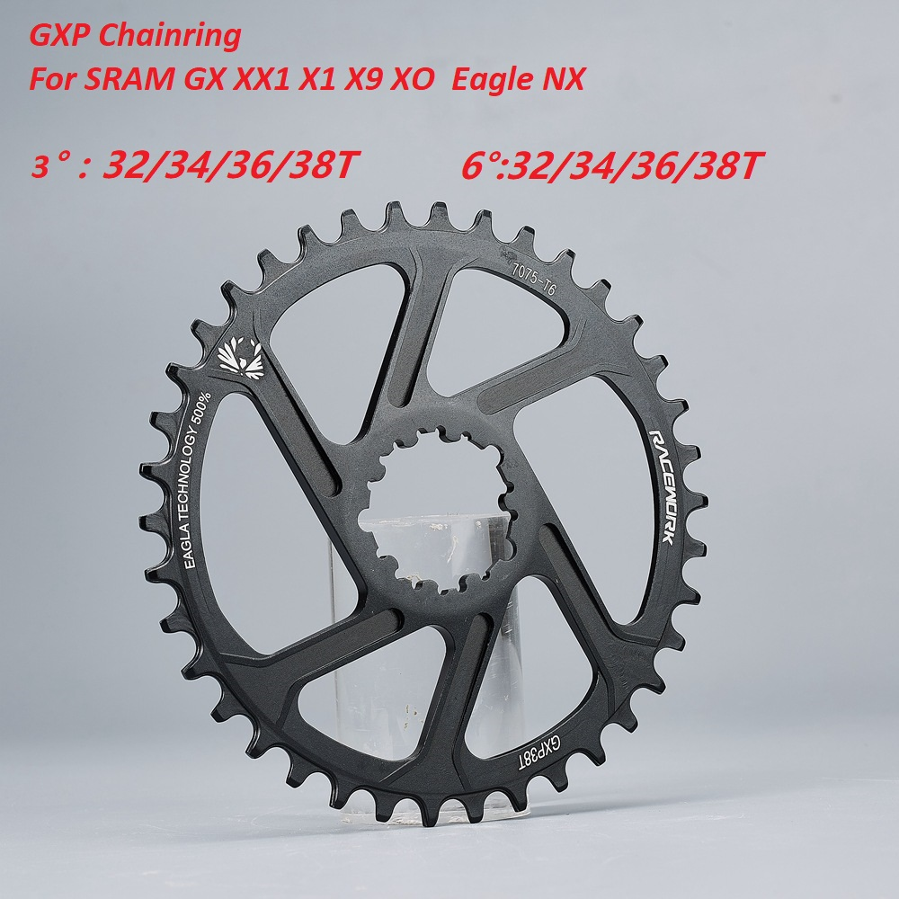 MTB Bicycle Chainwheel Narrow Wide Chainring Ring 32T 34T 36T 38T For SRAM GXP XX1 X9 XO X01 gx Eagle NX Crankset 11s 12s image