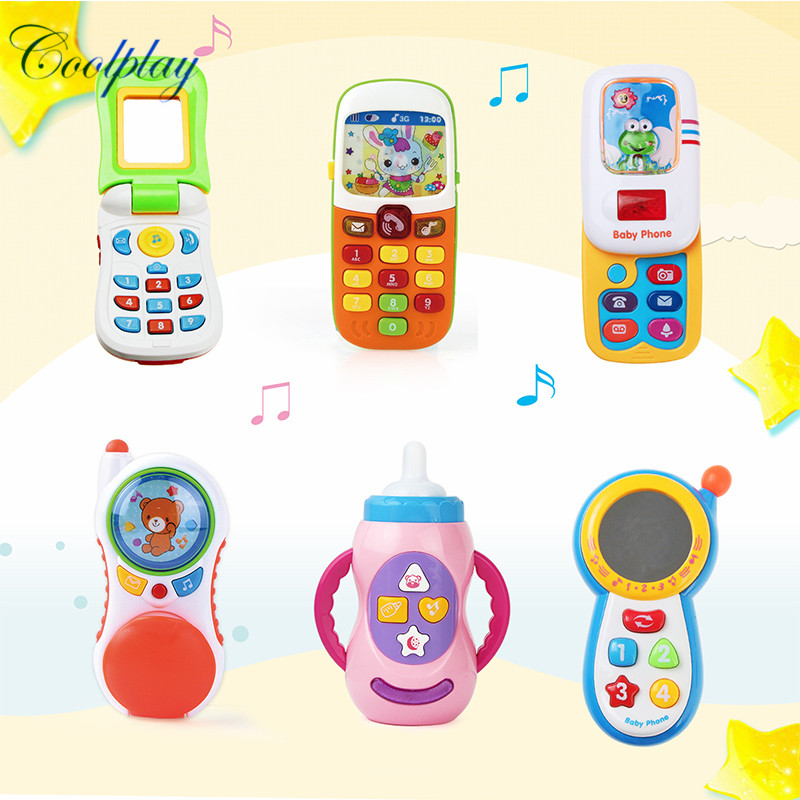 Kids Baby Electronic Toy Phone Educational Learning Toys Music Machine Toy Gift