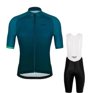 Image 2 - Raphaful 2020 rcc masculino ciclismo wear bicicleta roupas ropa ciclismo hombre mtb maillot bicicleta de estrada verão roupas triathlon