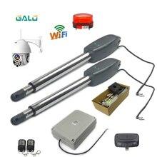 Heavy duty door opener 110V / 220V motor revolving door operator door opener 400Kg gate with WiFi control IP camera gate opener