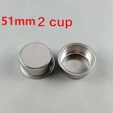 Parts FILTER Espresso Coffee-Maker 60-Mm 15-Bar FILTER-BASKET-DIAMETER 2CUP