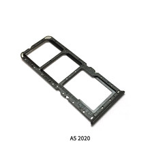 Sim Tray Holder For Oppo A5 2020 SIM Card Tray Slot Holder Adapter Socket Repair Parts(China)