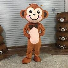 Маленький маскарадный костюм обезьяны с героями мультфильмов;