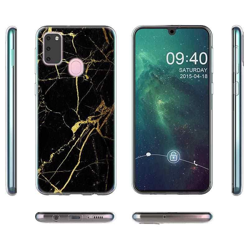 סיליקון מקרה Coque לסמסונג גלקסי A10e A20s A30 A40 A50 A60 A70 A80 A51 A71 טלפון מעטפת לוקסוס השיש