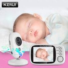 KERUI 3,2 дюйма беспроводной цветной видеоняня VB603 детская няня камера безопасности ночное видение контроль температуры няня