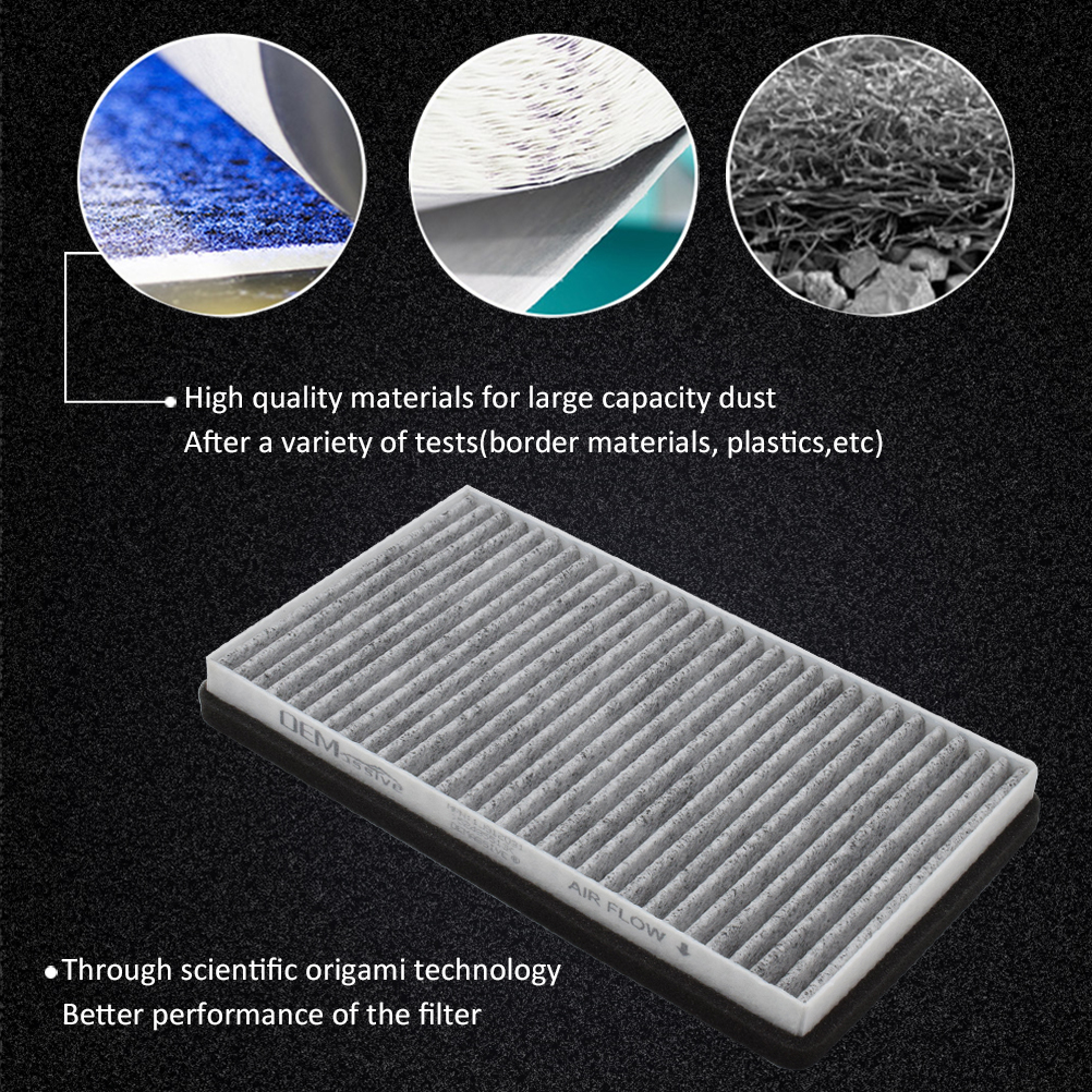 CABIN AIR FILTER FOR CHEVY SILVERADO TAHOE GREAT FIT C38173