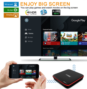 Image 5 - MECOOL M8S PRO W Smart TV Box Android 7.1 Amlogic S905W Quad Core 2GB 16GB 1GB 8GB  Voice Control 2.4G WiFi 4K Set Top TV Box