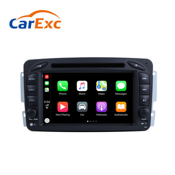 Android 9.0 Autoradio Built-in CarPlay GPS Navigation Fit For Mercedes Benz W209 W203 W168 W163 W463 Viano W639 Vito Vaneo Radio image