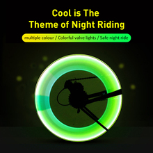 Bicycle Accessories Colorful Bicycle LED Valve Cap Spoke Lamp Flash Tyre Wheel Light Car Motorcycle Bicycle Tyre Lights cheap CN(Origin) Tyre Valve Caps Battery red yellow green blue 3x Button Battery Stainless Steel Waterproof Rubber Gasket Your Safety