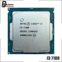 Intel Core i3-7100 i3 7100 3.9 GHz Dual-Core Quad-Thread CPU Processor 3M 51W LGA 1151