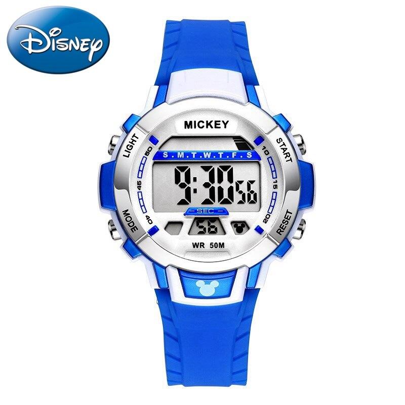 Kids Sports Soft Rubber Band Digital Waterproof Wrist Watch Children's Easy Time Good Gour Student Children Clock Kol Satti New