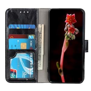 Image 3 - יוקרה רטרו Flip עור ארנק מגנטי סגירת כרטיס חריצי כיסוי מקרה עבור iPhone 11 פרו מקס Xs Max Xr X 8 בתוספת/8 7 בתוספת/7
