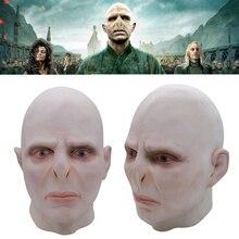 Die Dunklen Lord Voldemort Maske Cosplay Masque Boss Latex Horrible Scary Masken Terrorizer Halloween Maske Kostüm Prop Männer