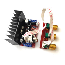 Amplifier-Board Computer Single-Power Diy And Sound TDA7377 3-Channel 12V Sutie Super-Bass