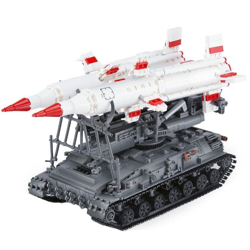 Oyuncaklar ve Hobi Ürünleri'ten Bloklar'de Yapı Taşları Uyumlu Marka 1469 Adet Askeri Serisi SA 4 GANEF Tankı Silah Figürleri MOC Tuğla Oyuncaklar Yetişkinler Için Hediyeler'da  Grup 1