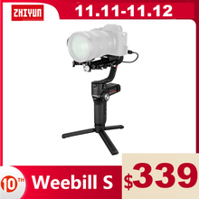ZHIYUN Official Weebill S 3 Axis Gimbal Handheld Stabilizer Image Transmission for Canon Sony Etc Mirrorless Camera OLED Display