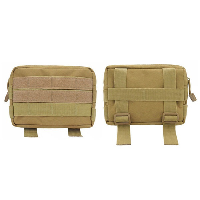 Tactical Bag MOLLE Accessory EDC Utility Tools Pouch Outdoor Pocket Bags Military Waist Fanny Camping Army Bags
