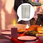 Cube Shape Candle Si...