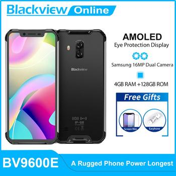 Blackview New BV9600E 4GB+128GB  Helio P70 Octa CoreIP68 Waterproof Mobile Phone 6.21'' FHD+ AMOLED Android 9.0 NFC Smartphone - discount item  16% OFF Mobile Phones