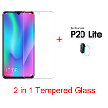 2 in 1 Ultra Thin Phone Film For Huawei P20 Pro P20 lite P Smart Plus 2019 Honor 20 10 lite Camera Lens Film For Huawei V30 Pro(China)