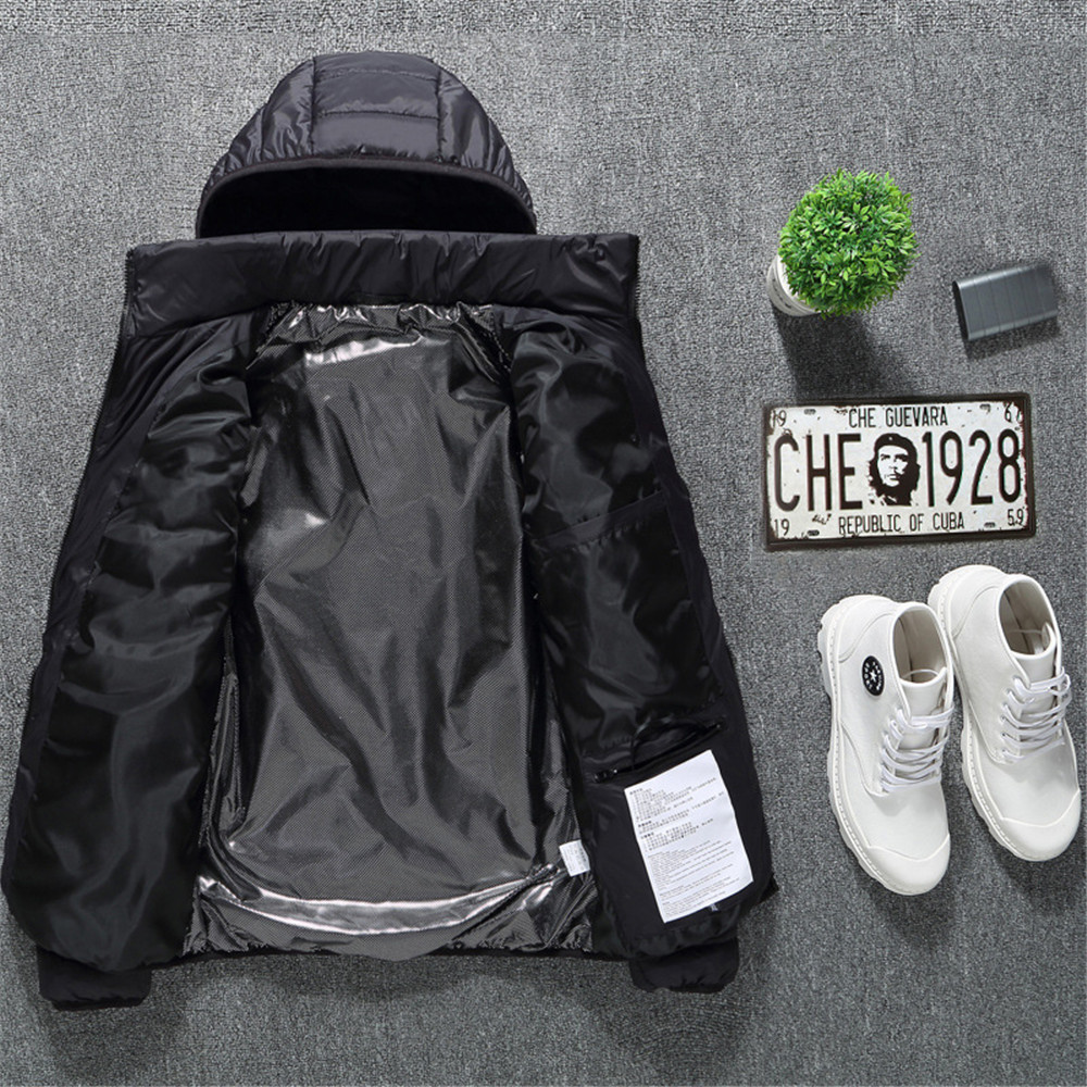Power Bank NOT Included Mefashion Womens Electronic Heated Jacket USB Fast Heating Waterproof Coat Hooded Jacket for Women
