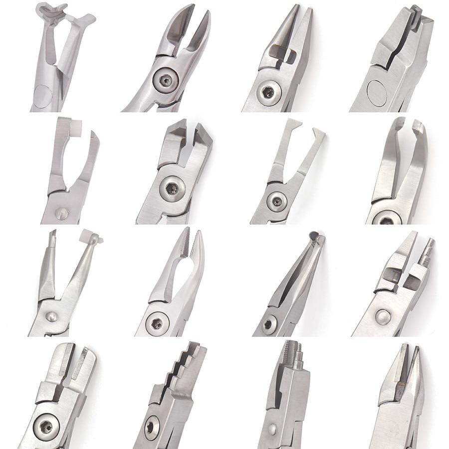 Dental Orthodontic Plier Band Removing Forcep Bracket Brace Remover Plier,Weingart NITI Wire Back Plier Dental Instrument Tool