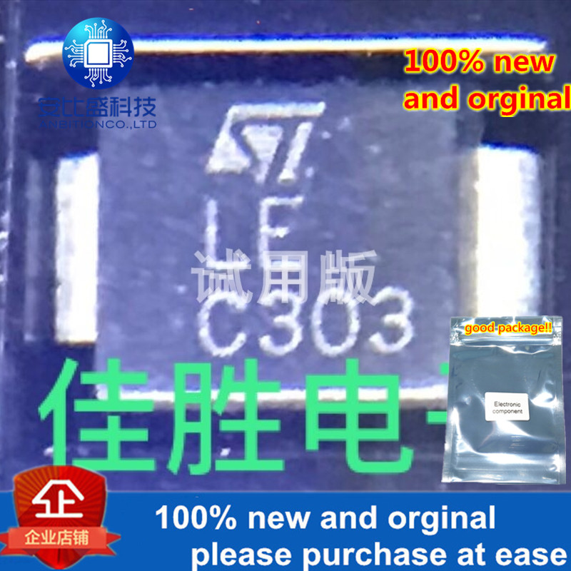 30pcs 100% New And Orginal SM6T6V8CA 6.8v Two-way TVS Protection Tube  In Stock