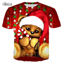 Unisex Christmas Bear T Shirt