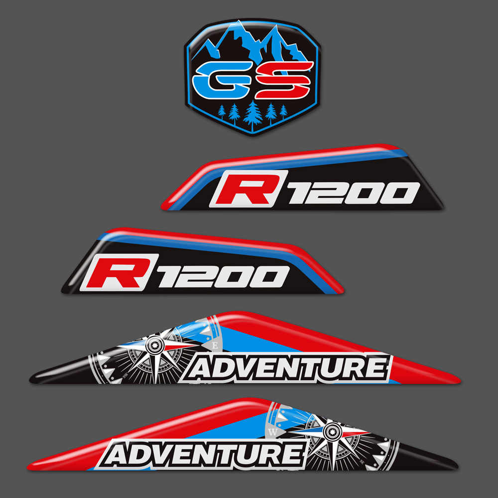 Color : 1 Motorcycle Stickers Decal For BMW R1250GS LC ADV R 1250 GS Adventure Front Beak Fairing Extension Wheel Extender Cover GSA 2019
