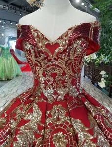 Image 5 - Off כתף בורגונדי כדור שמלות Quinceanera שמלות 2020 נדל תמונות נפוח מחוך נצנצים אירוע נשף מסיבת עבור מתוק 15 16 בנות