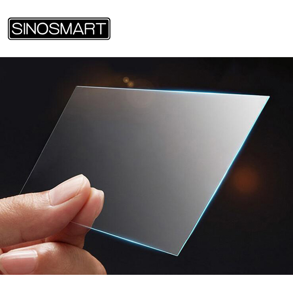 Sinosmart 6 2 9 9 7 10 1 inch tempered glass screen protector Premium clear anti-finger print explosion-proof
