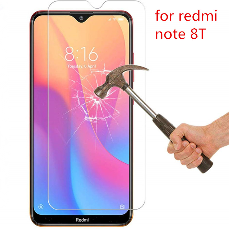2PCS Tempered Glass For Xiaomi Redmi Note 8T Screen Protector For Xiaomi Redmi Note 8T  Protective Glass